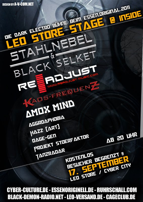 Programm Am Samstag 17.09.2011